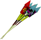 Dead rising Rocket Fireworks