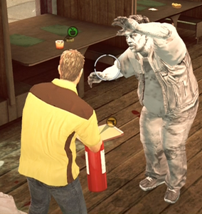 Dead rising case 0 fire extinguisher frozen