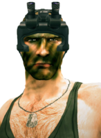 Dead rising Soldier of Fortune Skills Pack bust