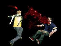 Dead rising bar chair hitting zombie (5)