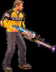 Dead rising lightning gun holding