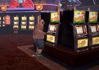 Dead rising silver strip cash gordon's casino SCARE ZOMBIE fat male next to slots