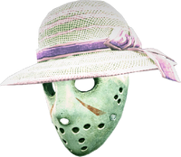Dead rising ladies hat hockey mask