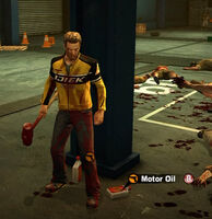 Dead rising in case west motor oil