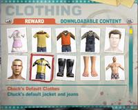 Chuck's locker chuck's default clothes