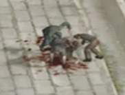 Dead rising 3 zombies feasting close up
