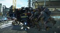 Dead rising 3 Rockets red glare vehicle