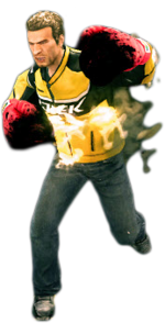 Dead rising flaming gloves combo