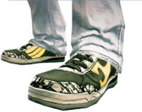 Dead rising Sports Skills Pack shoes