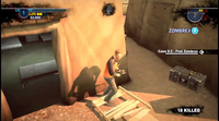 Dead rising 2 Case 0 pallet in front of tent (2)