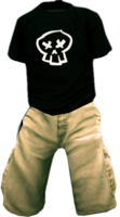 Dead rising Skater Outfit 3