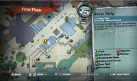 Silver strip peep hole SCARE zombie MAP