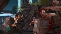 Dead rising grass trimmer heavy attack busted heads (2)