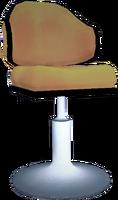 Dead rising Yellow Tall Chair 2