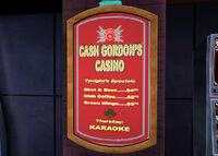 Dead rising cash gordon's casino poster