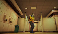 Dead rising off the record SCARE ZOMBIE ZOMBIES Royal Flush Plaza Bathroom Womens