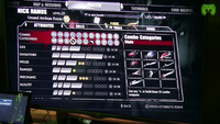 Dead rising 3 Combo Categories