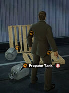 Dead rising in case west propane tank
