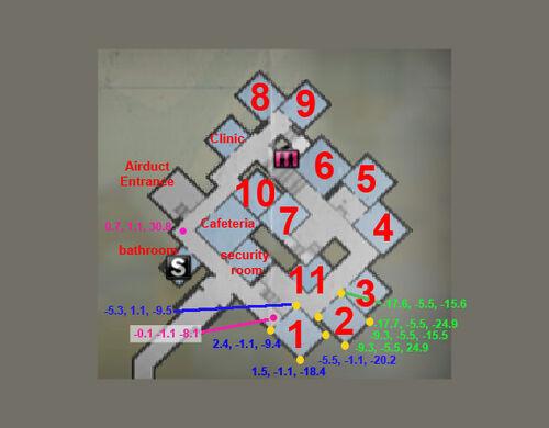 Dead rising 2 safe house map cordinates