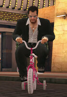Dead rising tricylce kid's bike with frank off the record (2)