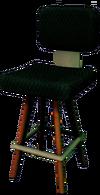 Dead rising Cushioned Tall Chair