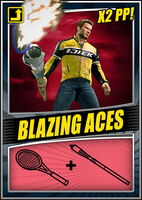 Blazing Aces Card