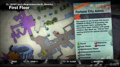 Dead rising 2 case 0 fortune city arena map