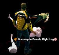 Dead rising Mannequin Female Right Leg name (2)