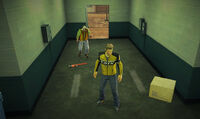 Dead rising off the record SCARE ZOMBIE ZOMBIES Royal Flush Plaza hallway to underground