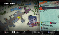 Dead rising American Undies south plaza MAP