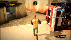 Dead rising 2 Case 0 case 0-2 in front of ambulance