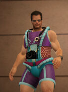 Dead rising off the record clothing Space Suit - space store close up