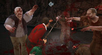 Dead rising grass trimmer heavy attack busted heads (5)