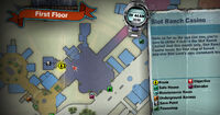 Dead rising off the record SCARE ZOMBIE ZOMBIES Slot Ranch Casino Bathroom MAP
