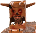 Dead rising Cosplay Warrior Skills Pack bust