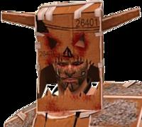 Dead rising Cosplay Warrior Skills Pack bust