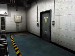 Dead rising secruity room door to entrance plaza hallway