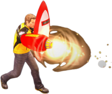 Dead rising protoman blaster and shield alternate