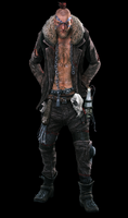 Dead rising hunter full background black