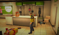 Dead rising off the record SCARE ZOMBIE ZOMBIES Royal Flush Plaza Kathy's Space