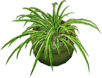 Dead rising Round Potted Plant 3rd