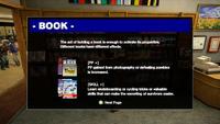 Dead rising demo books screen