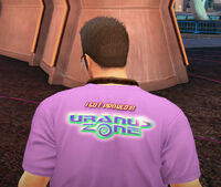 Dead rising off the record clothing uranus zone t-shirt back