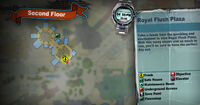 Dead rising off the record SCARE ZOMBIE ZOMBIES Royal Flush Plaza Second Floor outside of childrens castle MAP