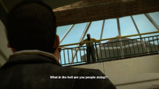 Dead rising beginning of game zombie breach (2)