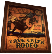 Dead rising wild west poster rodeo