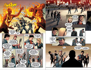 Dead rising 3 comicbook page 9 and 10