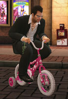 Dead rising tricylce kid's bike with frank off the record (4)