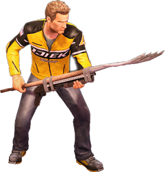 Dead rising boomstick holding