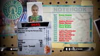 Dead Rising adrian notebook